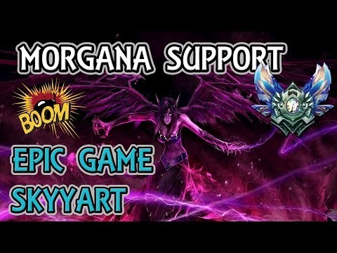 Morgana EPIC RANKED SKyyart est CHAUD ! SUPPORT BITCHES Diam1 50LP Moyenne masse dégâts BABY !