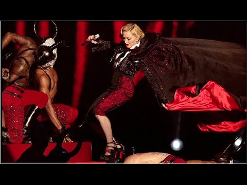 Madonna Falls Hard On Stage At Brit Award 2015! (video) video