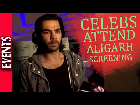 Latest Bollywood News - Movie Aligarh Special Screening- Bollywood Gossip 2015