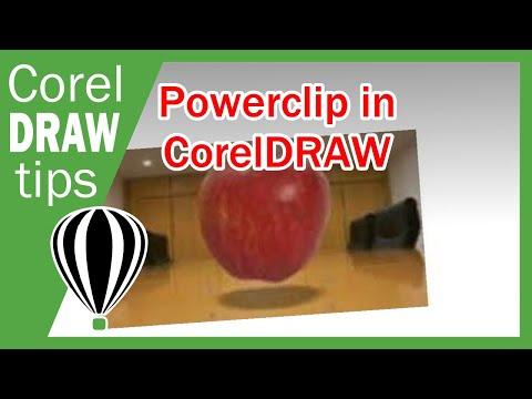 Powerclip in CorelDraw