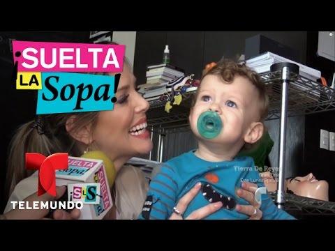 Suelta La Sopa | Maritza Rodríguez y sus gemelos posan para una revista | Entretenimiento