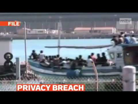 mitv - Privacy breach as Australia publishes asylum-seeker details