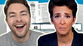 Rachel Maddow's Epic Trump Tax FAIL!