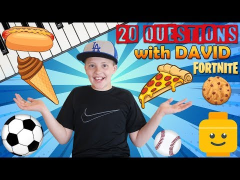 20 Facts About Me || David Family Fun Pack