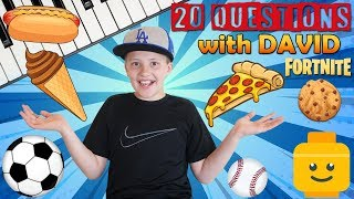 20 Facts About Me    David Family Fun Pack
