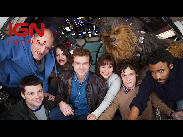 Han Solo A Star Wars Story Begins Shooting, Cast Photo Released - IGN News