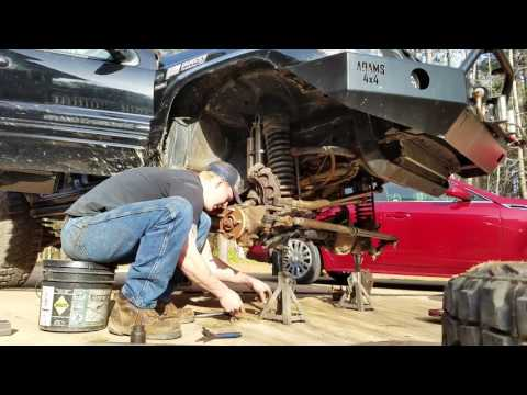 How to change Jeep Front axle shafts