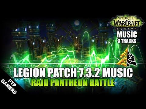 [#MUSIC 7.3] Pantheon Battle   World of Warcraft: Legion Soundtrack