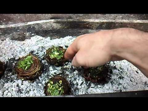 Barbecued Artichokes In the Fire-One Man Band Cooking Channel&#8230;