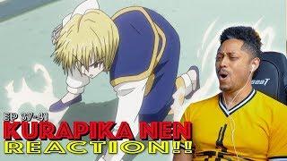 Kurapika Nen Power! First Time Watching Hunter x Hunter 2011 Episode 37 38 39 40 41 Reaction!
