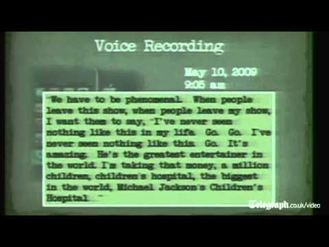 Audio recording of drugged Michael Jackson weeks before he died played to Conrad Murray jury