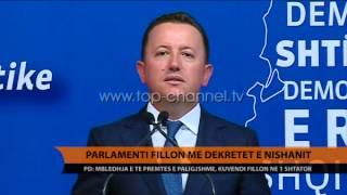 Parlamenti fillon me dekretet e Presidentit - Top Channel Albania - News - Lajme