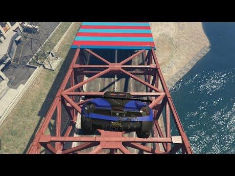 DIT RED JE NOOIT!!! (GTA V Online Funny Races)