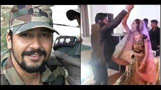 Martyr Major Vibhuti Dhoundiyal dance with wife goes viral