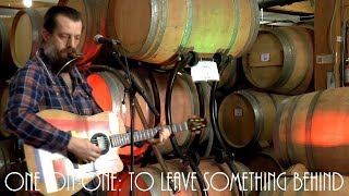 Cellar Sessions: Sean Rowe - To Leave Something Behind January 29th, 2018 City Winery New York