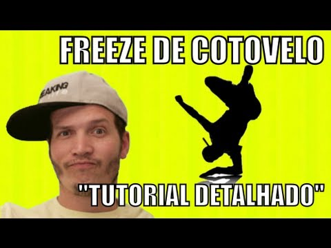 Freeze De Cotovelo Tutorial detalhado Basicos Do break Dance video