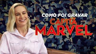 Brie Larson fala sobre a produção de Capitã Marvel