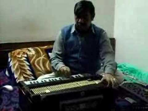Raag Bhopali --(part 2 ) In Harmonium By Pt.kishore Banerjee video