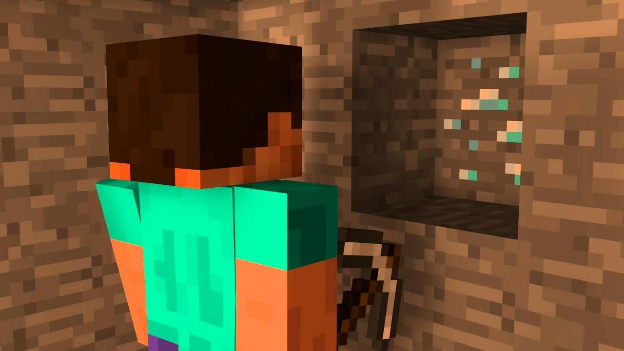 Steve And Diamond Minecraft