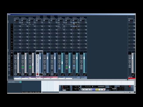 CUBASE TUTORIAL - Recording Audio From Midi Data Directly Into Cubase