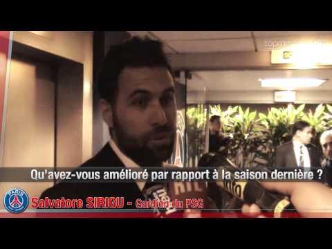 Salvatore Sirigu heureux de la prolongation de Laurent Blanc