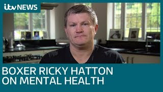 Former Boxer Ricky Hatton opens up about his struggles with mental health | ITV News