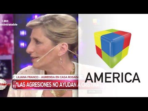 El mal momento de la periodista Liliana Franco en Casa Rosada