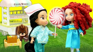 Disney Princesses Candy Shop, Pet Store and Babysitting with Playmobil Sets & Unboxings