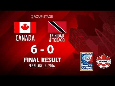 Canada 6:0 Trinidad & Tobago : Post-match comments, Women's Olympic Qualifying