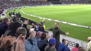 Cricket Fans fun with Mitchell Starc & Patrick Cummins England v Australia ODI Ageas Bowl
