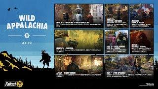 【PS4】ワイルドアパラチア『Fallout 76 フォールアウト76 』~荒廃したアメリカの地をぶらり旅~