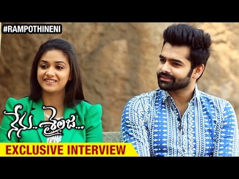 Nenu Sailaja Movie Exclusive Interview | Ram | Keerthi Suresh | Sathyaraj | Devi Sri Prasad