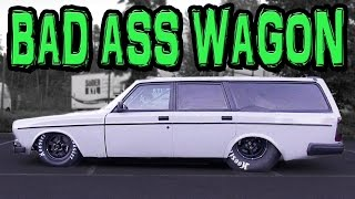 GIANT Turbo LSx Volvo Wagon - SWEDEN Streets!