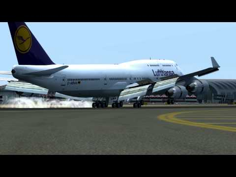 Dubai Int. Heavy Traffic//FSX [HD]