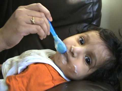 Aarush Cerelac Baby video