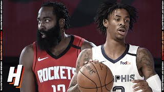 Houston Rockets vs Memphis Grizzlies - Full Game Highlights | July 26, 2020 | 2019-20 NBA Season