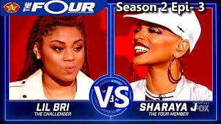 "Download Lagu Sharaya J vs Lil Bri  Female Rappers Battle ""Stir Fry"" The Four Season 2 Ep. 3 S2E3 Gratis STAFABAND"