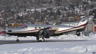 Pilatus PC-12 Takeoff
