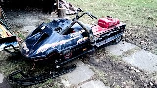 Early clips of the 1986 Skidoo Formula 583 -