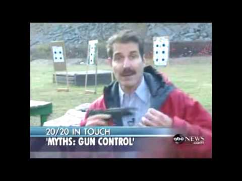 Gun Myths Gone In Five Minutes: Abc News 20 20 video