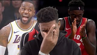 TOO DAMN SWEATY BRO!! Los Angeles Lakers vs Toronto Raptors - Full Game Highlights