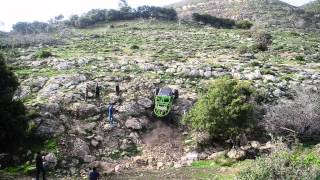 עולים את ההר Israel off road action