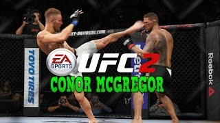 EA UFC 2 - Conor McGregor KNOCKOUT Compilation