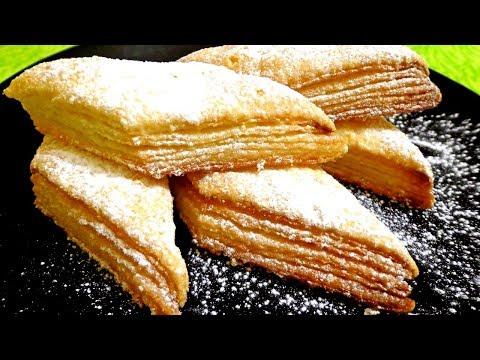 Супер простой рецепт! Печенье Наполеончики. Вкусно!!!