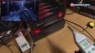 AMD Radeon HD 7970 Quad CrossfireX - Full 3DMark run - power - noise