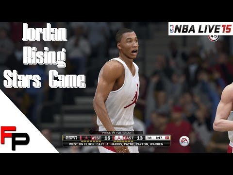 NBA Live 15 Gameplay - Rising Star Game