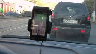 Nokia N8 - navigation with Garmin