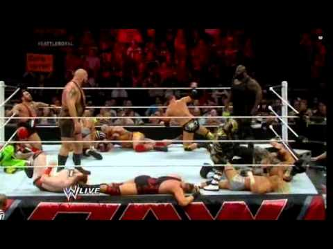 Wwe Raw May 5 2014 20 Man Battle Royal United States Title video