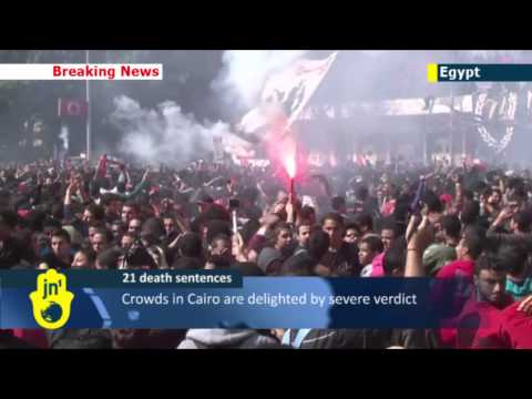 Egypt football riots: more clashes over death sentences