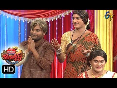Jabardasth Telugu Comedy Show ,31st august 2017,Rachha Ravi performance- ETV Telugu